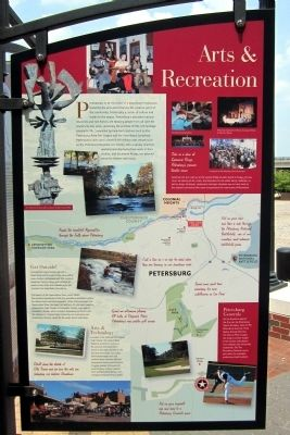 Arts & Recreation Marker image. Click for full size.