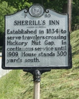Sherrill's Inn Marker image. Click for full size.