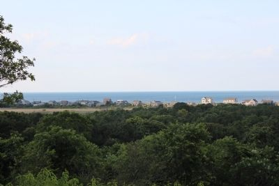 Overlooking the Eastern Entrance to the Cape Cod Canal image. Click for full size.