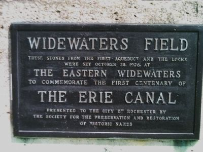 Widewaters Field Marker image. Click for full size.