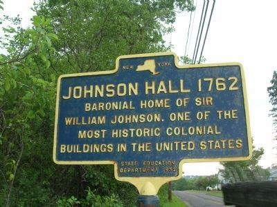 And Another Johnson Hall Marker image. Click for full size.