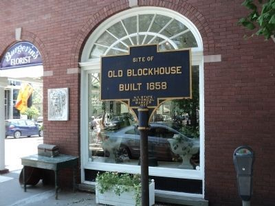 Old Blockhouse Marker image. Click for full size.