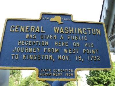 General Washington Marker image. Click for full size.