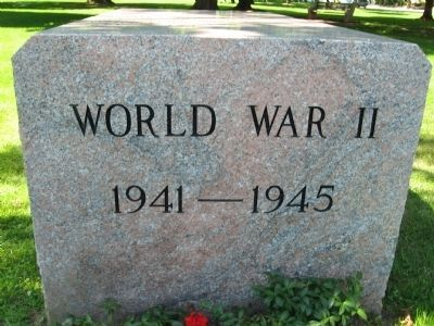 Guilford World War II Monument image. Click for full size.
