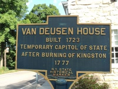 Van Deusen House Marker image. Click for full size.