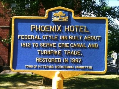 Phoenix Hotel Marker image. Click for full size.