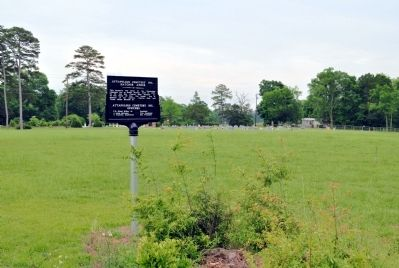 Attapulgus Cemetery Inc. Marker image. Click for full size.