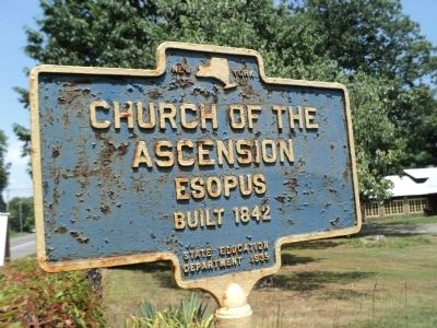 Church of the Ascension Marker image. Click for full size.