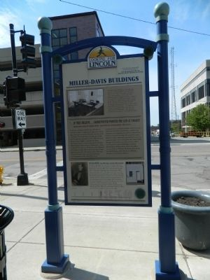 Miller-Davis Buildings Marker image. Click for full size.