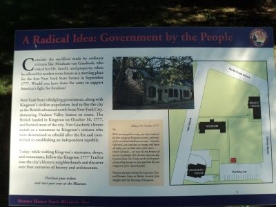 A Radical Idea: Government by the People Marker image. Click for full size.
