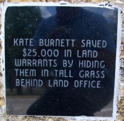 Kate Burnett Marker image. Click for full size.