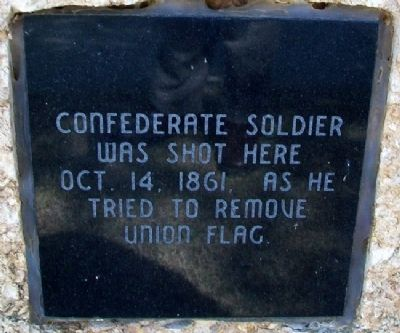 Confederate Soldier Marker image. Click for full size.