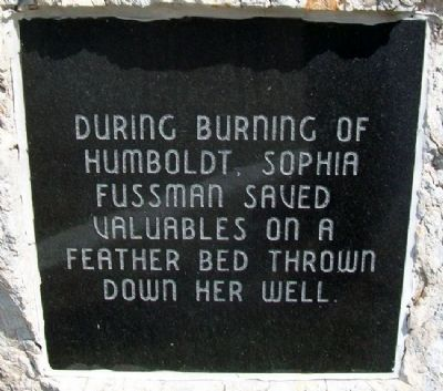 Sophia Fussman Marker image. Click for full size.