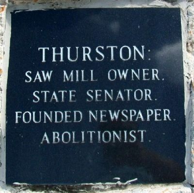 Colonel Thurston Marker image. Click for full size.