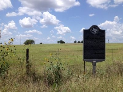 Site of San Augustine Church Marker image. Click for full size.