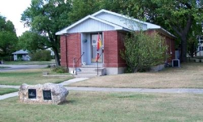 German Evangelical Church, 1860 and Marker image. Click for full size.