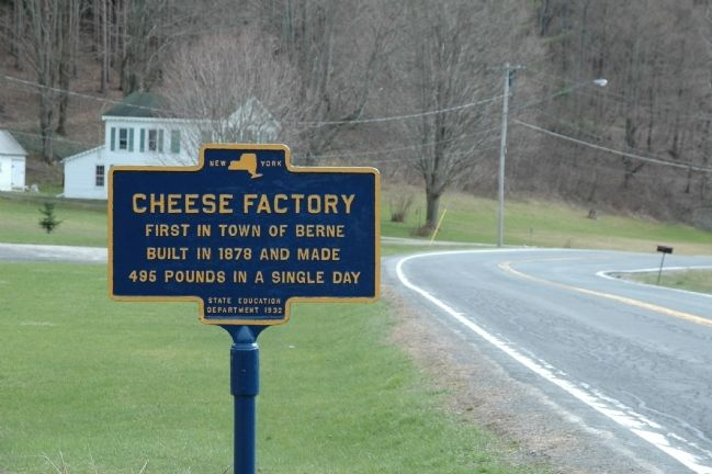 Cheese Factory Marker image. Click for full size.