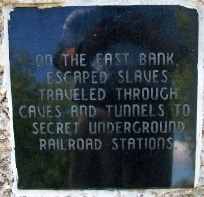 Humboldt Underground Railroad Marker image. Click for full size.