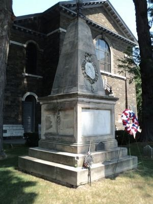 Grave of General George Clinton image. Click for full size.