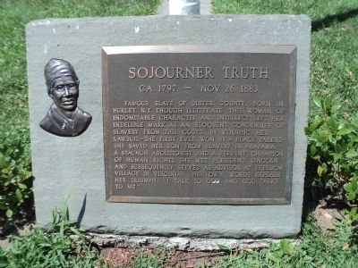 Sojourner Truth Marker image. Click for full size.