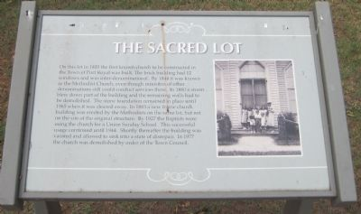 The Sacred Lot Marker image. Click for full size.