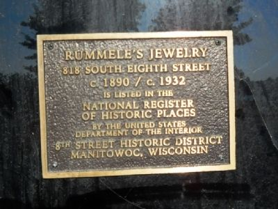 Rummele's Jewelry Marker image. Click for full size.
