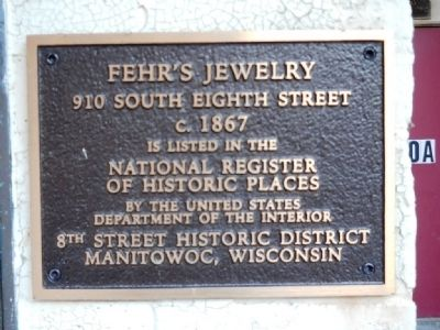 Fehr's Jewelry Marker image. Click for full size.