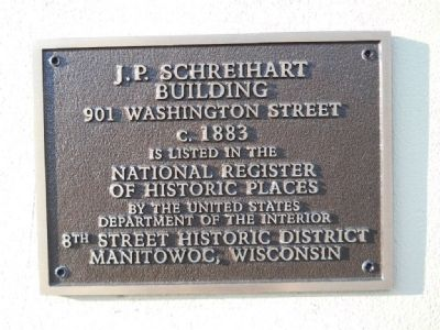 J.P. Schreihart Building Marker image. Click for full size.
