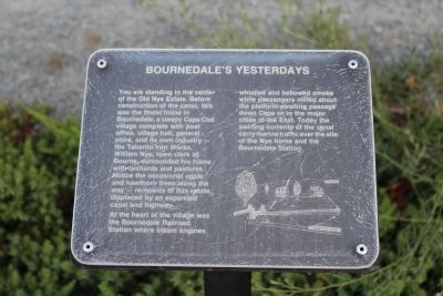 Bournedale's Yesterdays Marker image. Click for full size.