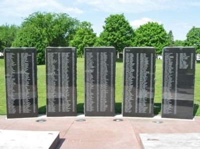 Honoring All Veterans Memorial Tablets image. Click for full size.