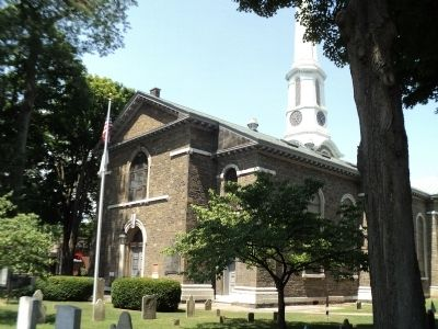 First Reformed Protestant Dutch Church of Kingston image. Click for full size.