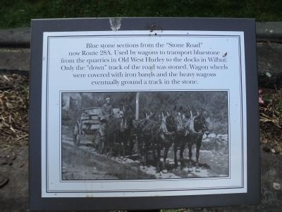 Stone Road Marker image. Click for full size.
