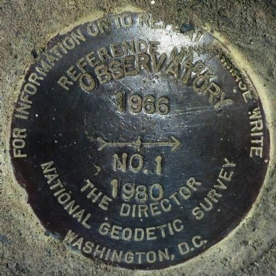 RM - 1, Geodetic Monument image. Click for full size.