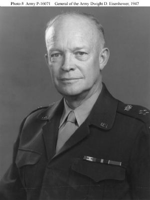 General Dwight David Eisenhower image. Click for full size.