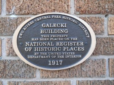 Galecki Building Marker image. Click for full size.