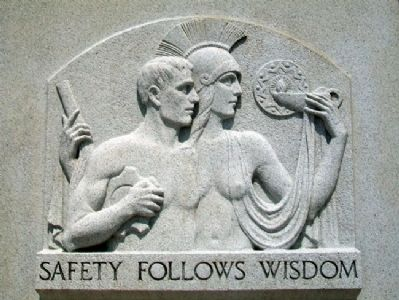 Relief on Safety Follows Wisdom Marker image. Click for full size.
