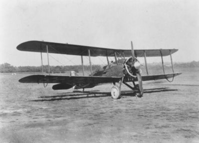 de Havilland D.H.4B biplane, as mentioned image. Click for full size.