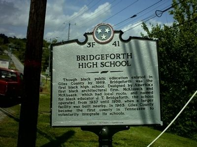 Bridgeforth High School image. Click for full size.