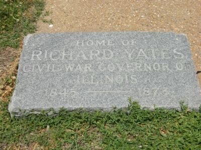 Richard Yates Plaque image. Click for full size.