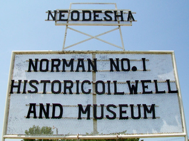 Norman No. 1 Museum Sign