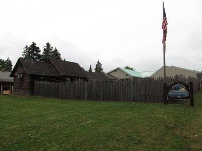 Madeline Island Museum grounds image. Click for full size.