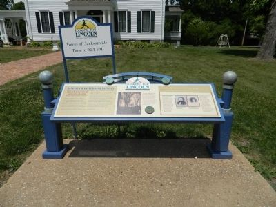 Lincoln & Governor Duncan Marker image. Click for full size.