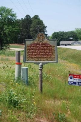 Tory Pond Marker image. Click for full size.