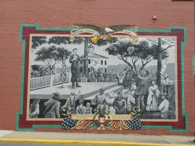 Lincoln and Slavery Mural image. Click for full size.