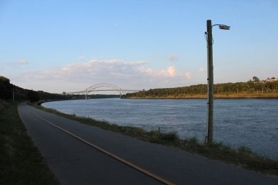 Cape Cod Canal image. Click for full size.