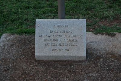 New Silver Brook Veterans Monument image. Click for full size.