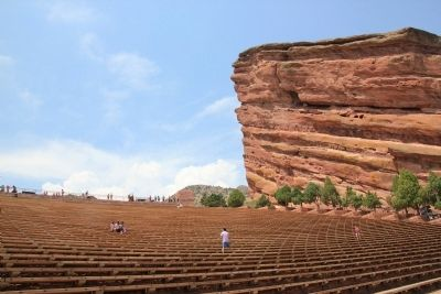 Red Rocks Park Amphitheater image. Click for full size.