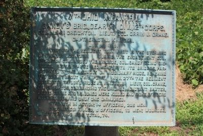 7th Ohio Infantry. Marker image. Click for full size.