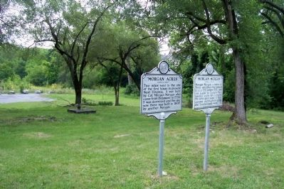 """Morgan Acres"" Marker image. Click for full size."