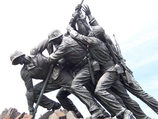United States Marine Corps Memorial Marker